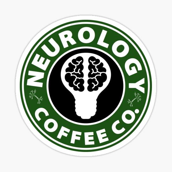Neurology Coffee Co.  Sticker