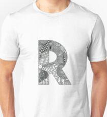 Zentangle R Unisex T-Shirt