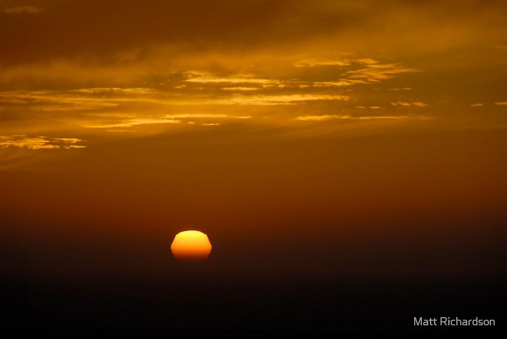 scream goodbye, sunshine by Matt Richardson