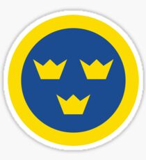 Swedish Roundel Sticker