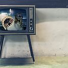No Heart Monkey on TV by GolemAura