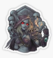 Sylvanas Crest Sticker