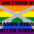 Mason-Dixon Roller Vixens love Gay/Lesbian by aj4787