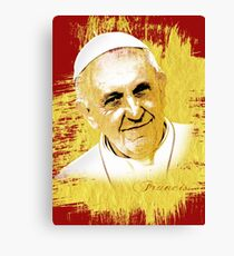 pope Canvas Print