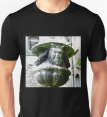 Satyr in the garden at Glenveagh Castle, Donegal Unisex T-Shirt