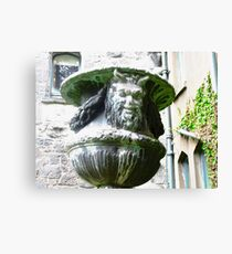 Satyr in the garden at Glenveagh Castle, Donegal Canvas Print