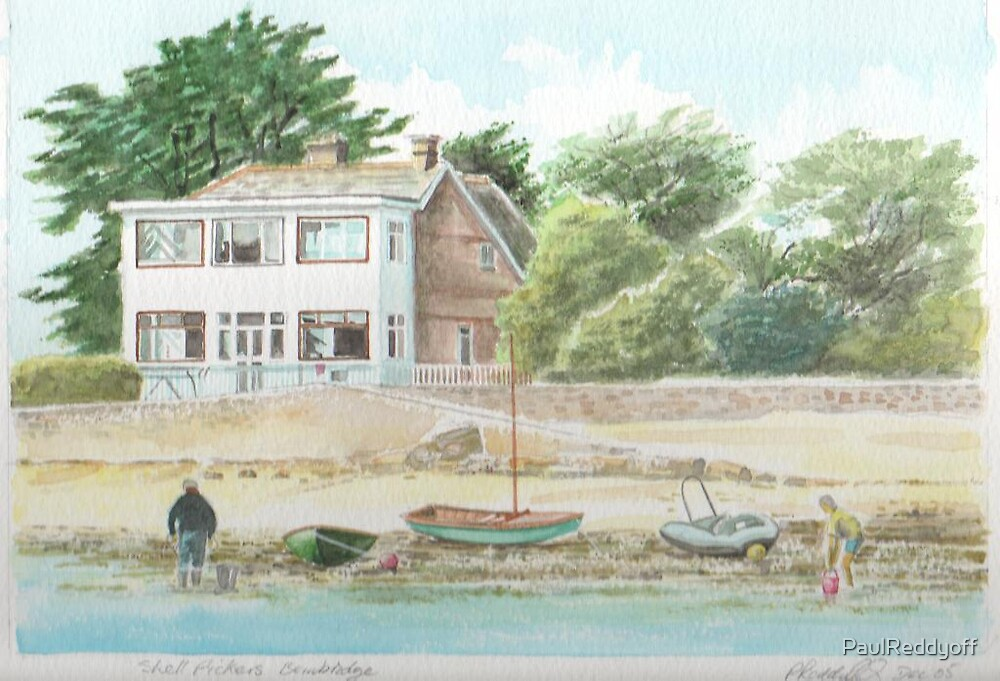 Shellpickers,Bembridge, Isle of Wight. by PaulReddyoff