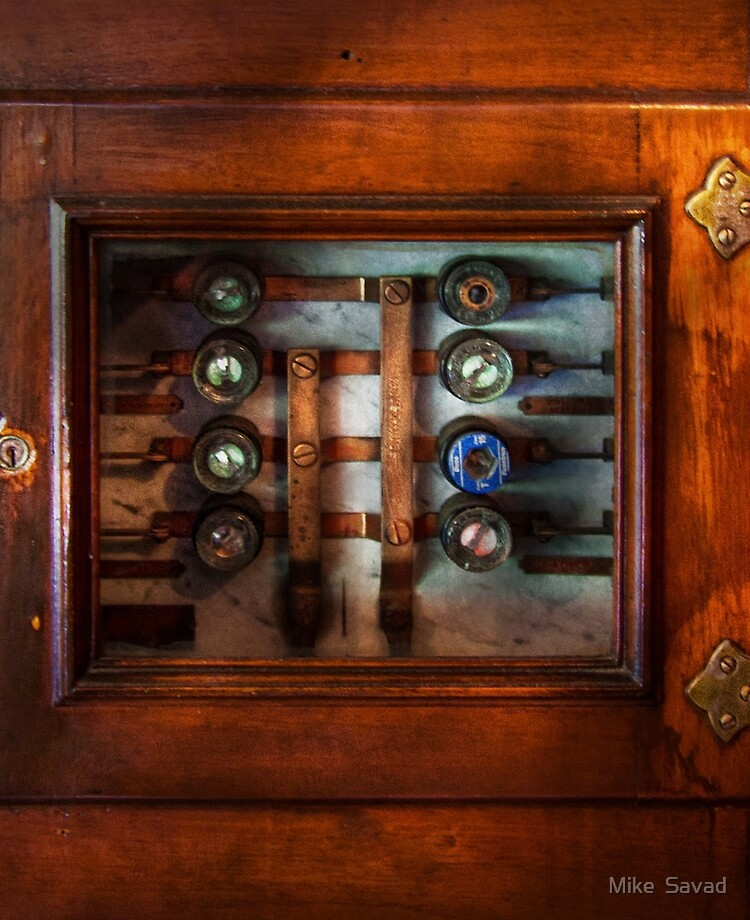 Steampunk - Electrical - The fuse panel