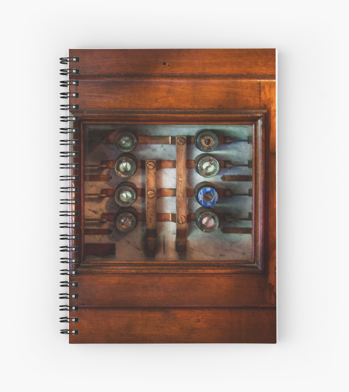 Steampunk - Electrical - The fuse panel by Michael Savad