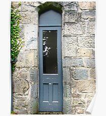 Narrow Door, Glenveagh Castle, Donegal Poster