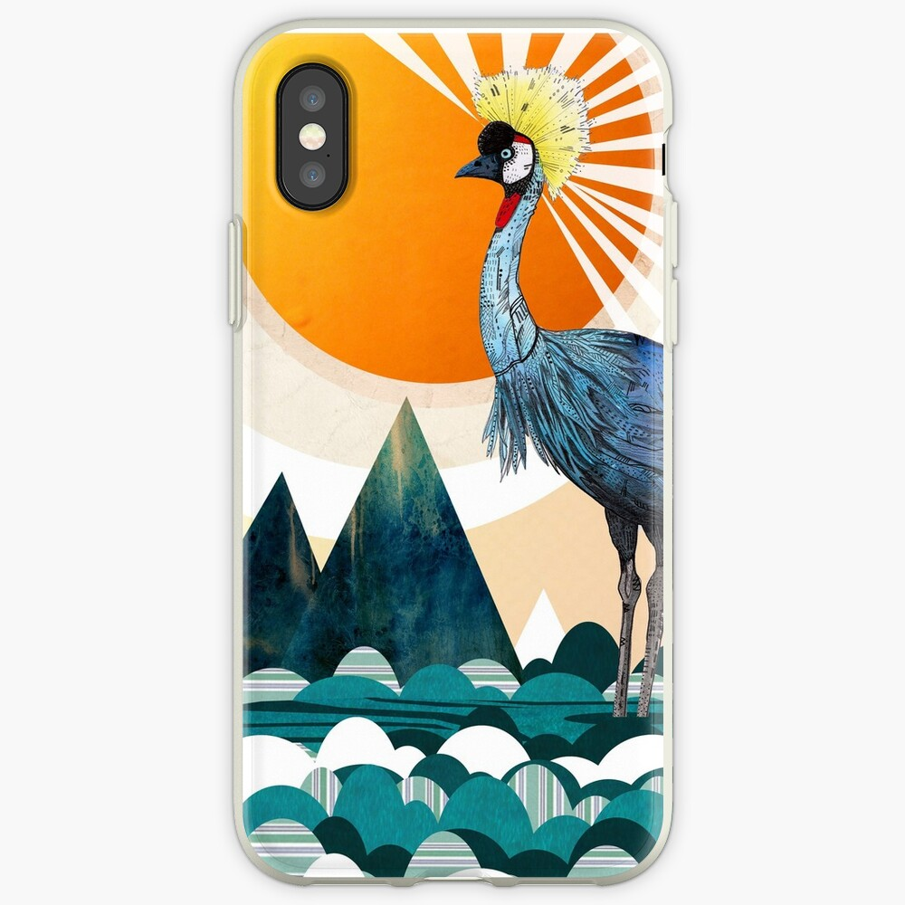 Crowned Crane iPhone Case & Cover