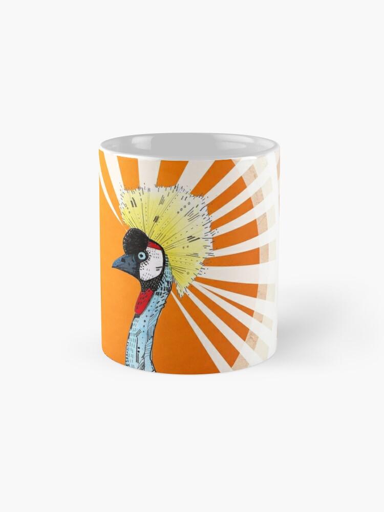 Alternate view of Crowned Crane Mug