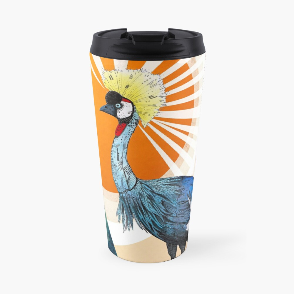 Crowned Crane Travel Mug