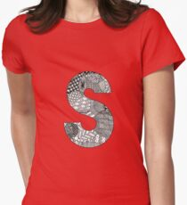 Zentangle S Womens Fitted T-Shirt