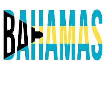 Bahamas Flag by BailoutIsland