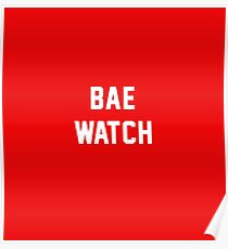 BAE WATCH Poster