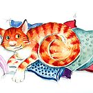 Red Tom Cat by Christiane C. Wolff