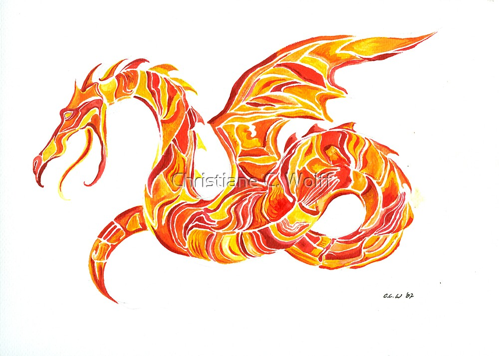 Firedragon by Christiane C. Wolff