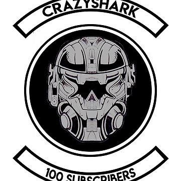 "CRAZYSHARK ""The 100"" (Premium) by Crazy-Shark"