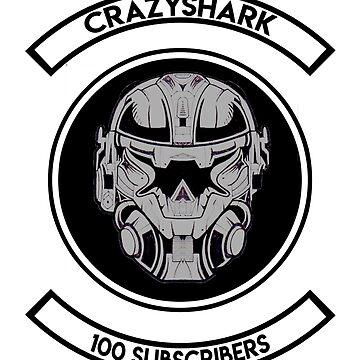 "CRAZYSHARK ""The 100"" (Premium) by Crazy-Shark"