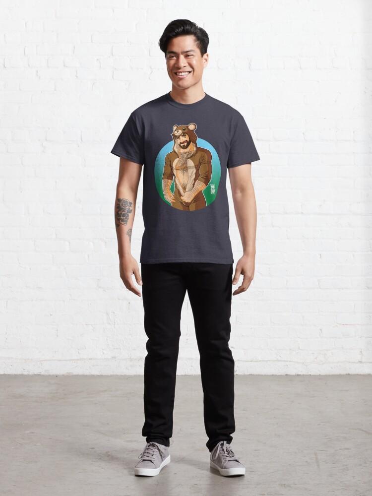 Alternate view of ADAM LIKES TEDDY BEARS Classic T-Shirt