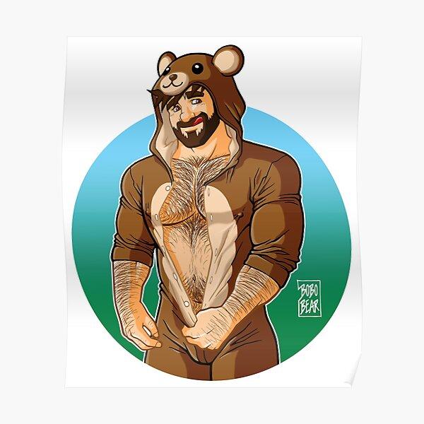 ADAM LIKES TEDDY BEARS Poster