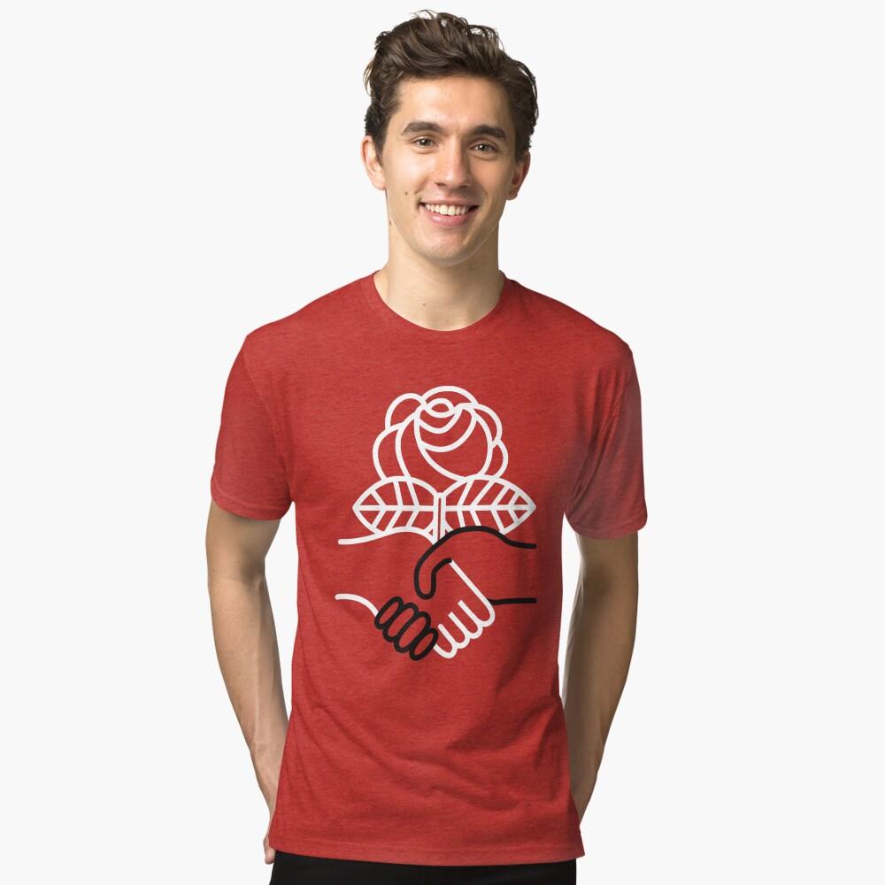 Democratic Socialists of America Tri-blend T-Shirt