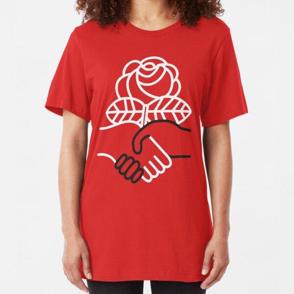 Democratic Socialists of America Slim Fit T-Shirt