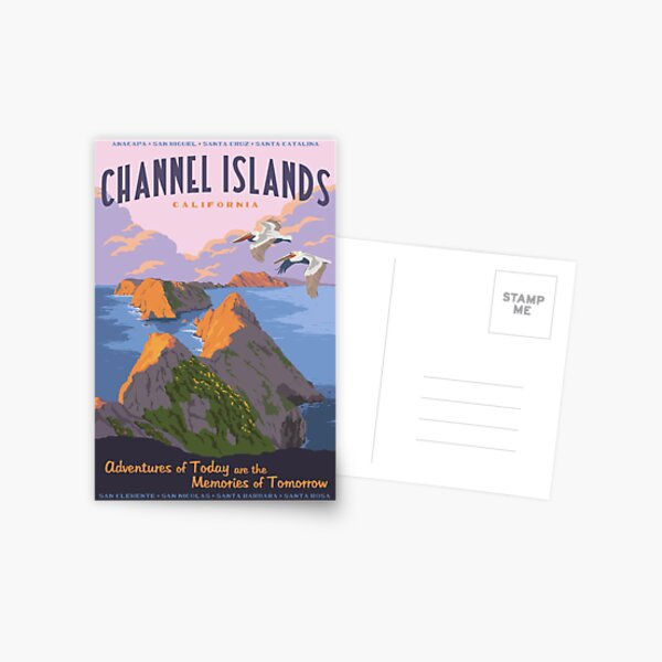 Channel Islands National Park Travel Decal 2 Postcard