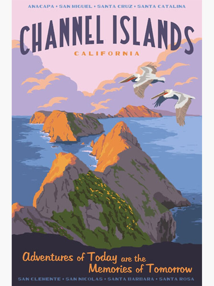 Channel Islands National Park Travel Decal 2 by MeLikeyTees