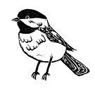 Chickadee dee dee by Lauren King