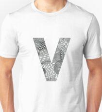 Zentangle V Unisex T-Shirt