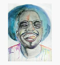 Anderson Paak Watercolor Photographic Print