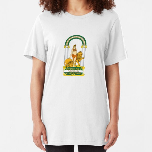 Andalucia Coat of Arms Slim Fit T-Shirt