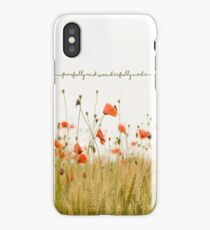 Fearfully and Wonderfully Made iPhone Case/Skin