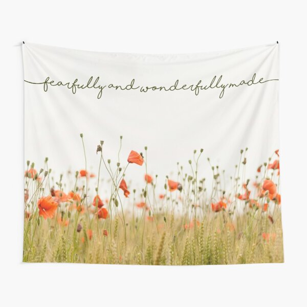 Fearfully and Wonderfully Made Tapestry