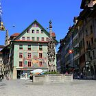 Lucerne in the old town by annalisa bianchetti