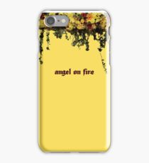 used to be on fire iPhone Case/Skin