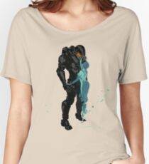 Master Chief & Cortana Women's Relaxed Fit T-Shirt