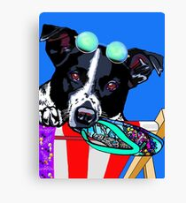 Life is a beach: Maggie for Lesley  Canvas Print