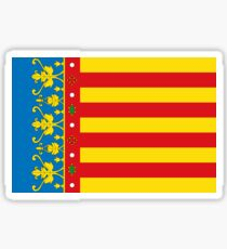 Valencia flag, Spain Sticker