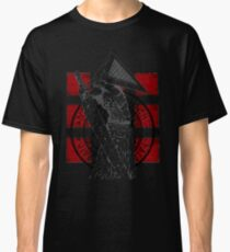 Pyramid Head Tribute (Black Background Only) Classic T-Shirt