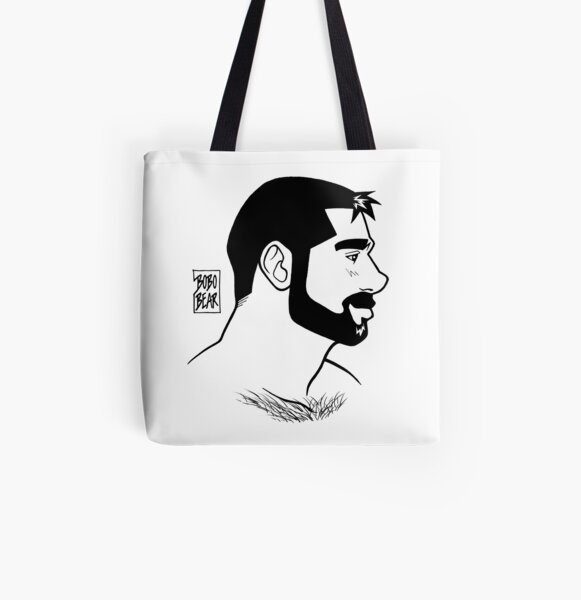 BEN PROFILE - LINEART All Over Print Tote Bag