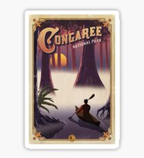 Congaree National Park Travel Decal Sticker