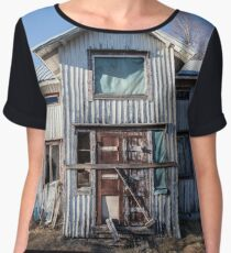 Abandoned Jehova´s Witness House in Finland Chiffon Top