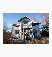 Abandoned Jehova´s Witness House in Finland Photographic Print