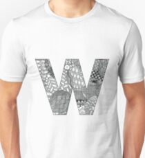 Zentangle W Unisex T-Shirt