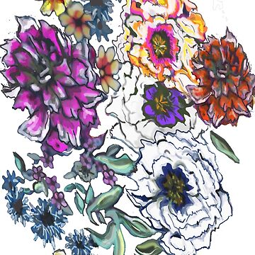 Multicolored Floral Pattern: Spring Wild Flowers! by noelleinaboot