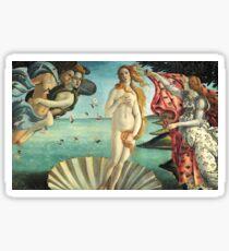 The Birth of Venus by Sandro Botticelli Sticker