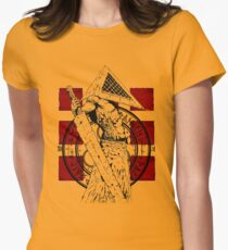 Pyramid Head Tribute Womens Fitted T-Shirt